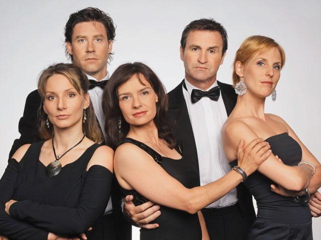 Edelmais & Co.-Team (v.l. Anne Hodler, Sven Furrer, Karin Moser, René Rindlisbacher, Aniko Donath).