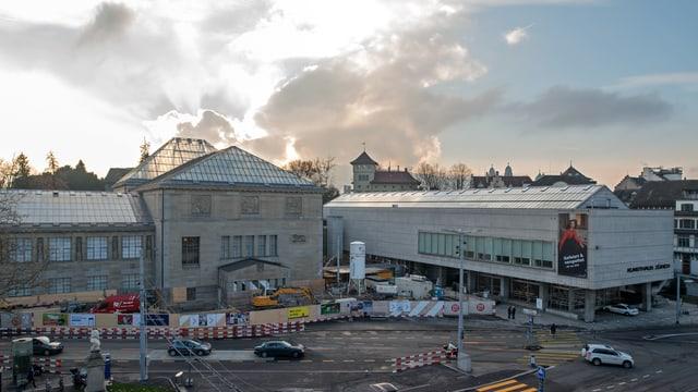 Das Kunsthaus Zürich hatte letztes Jahr wegen einer Baustelle mit einem Besucherrückgang zu kämpfen.