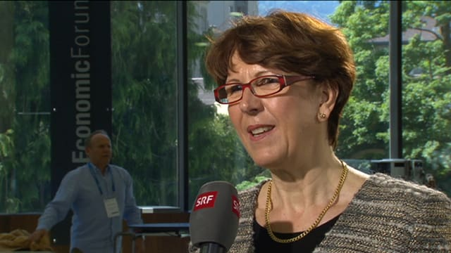 Susanne Ruoff in Interlaken