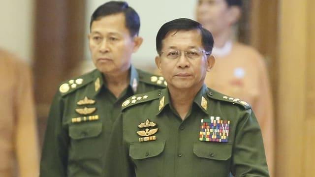Militärchef Min Aung Hlaing