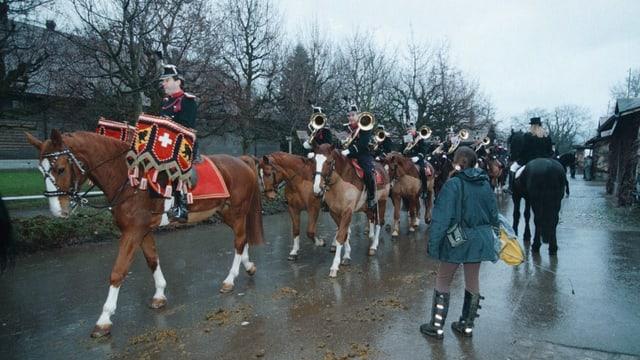 1996: Von der EMPFA zum Nationalen Pferdezentrum.