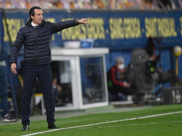 Villarreal-Trainer Unai Emery.