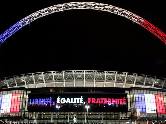 Das Wembley.