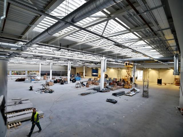 Produktionsstätte in Budweis