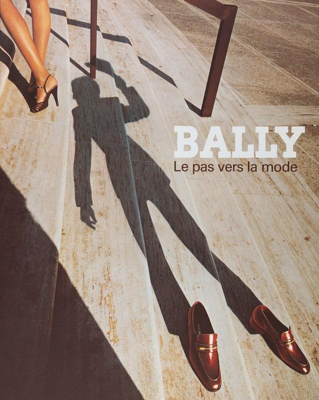 Bally-Werbung aus dem Jahr 1978.