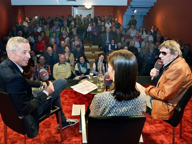 «Persönlich»-Publikum in Thun.