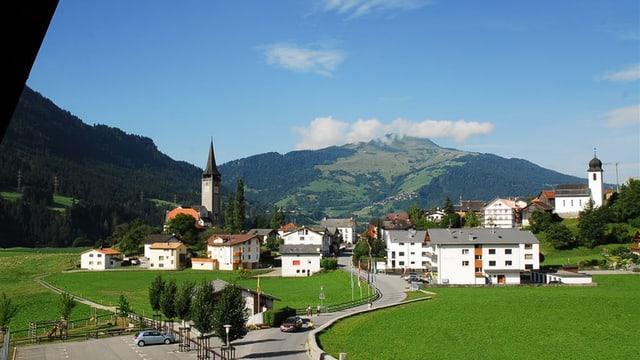 La vischnanca da Sagogn è represchentada a la festa da Unspunnen ad Interlaken.