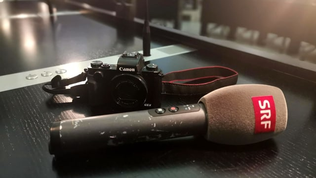 Microphone and camera