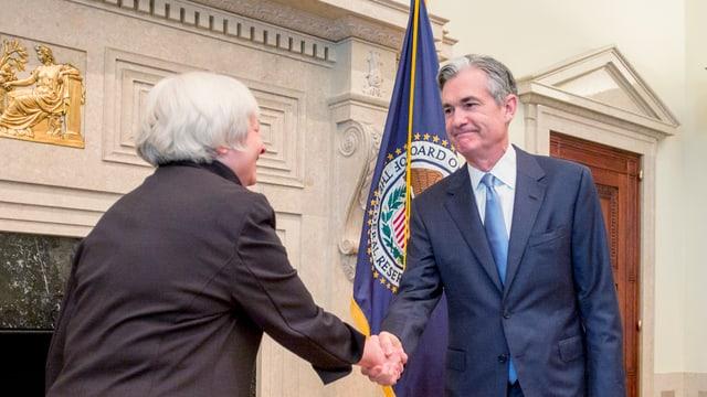 Yellen und Powell