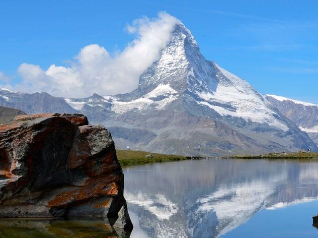 Das Matterhorn.