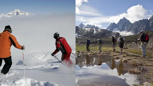 guids da muntogna e scolasts da skis.