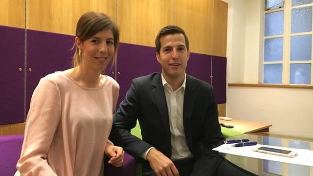 Il maletg mussa Andrea Rauti-Wyser e Pascal Wyser