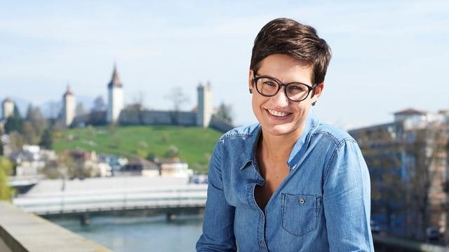Die neue OK-Chefin des Luzerner Festes Corinne Imbach.