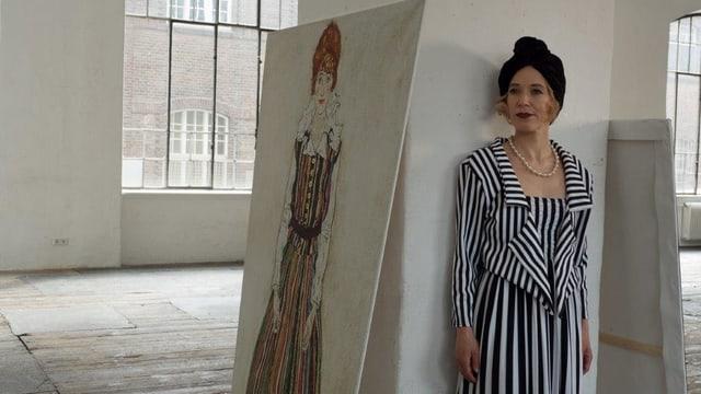 Video «Egon Schiele - Der Skandalmaler im Filmporträt» abspielen