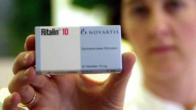 Eine Packung Ritalin