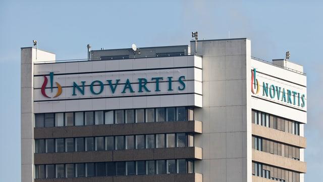 La chasa principala da Novartis a Basilea.
