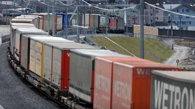 Güterzug von SBB Cargo.
