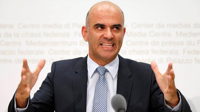 Gesundheitsminister Alain Berset