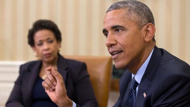 Il president dals Stadis Unids, Barack Obama.
