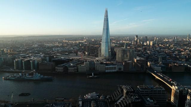 The Shard Wolkenkratzer in London bei Tagesanbruch (reuters)