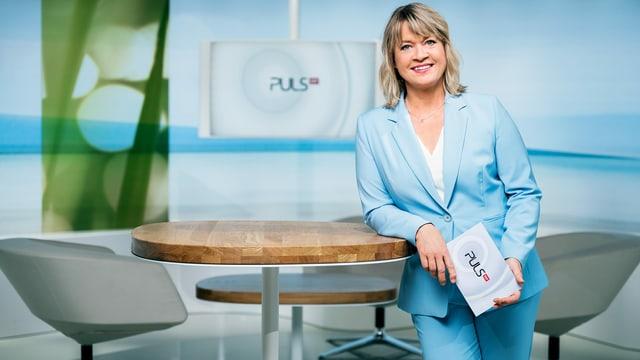 «Puls»-Moderatorin Daniela Lager