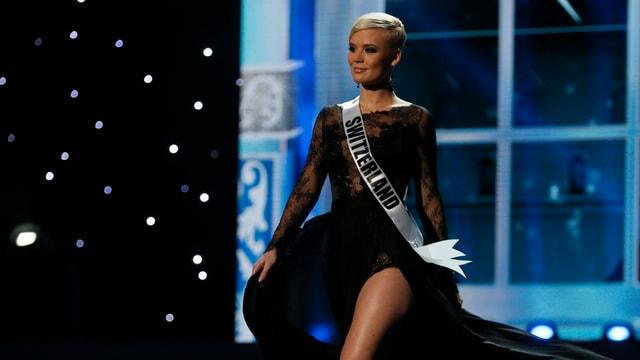Miss Schweiz Dominique Rinderknecht.