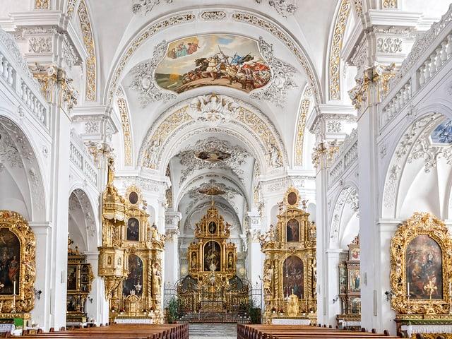 Disentis Klosterkirche