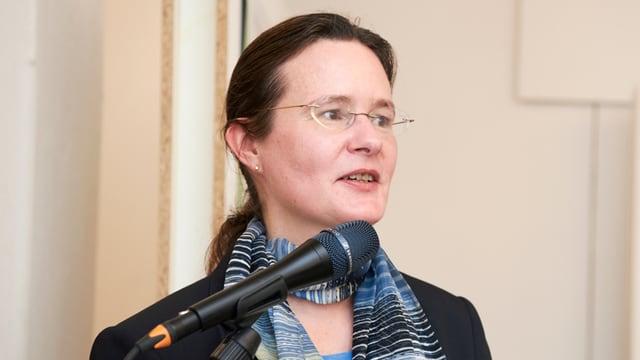 Portrait der Tierschützerin Stefanie Schindler.