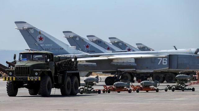 Luftwaffenstützpunkt Hamaimim in Syrien.