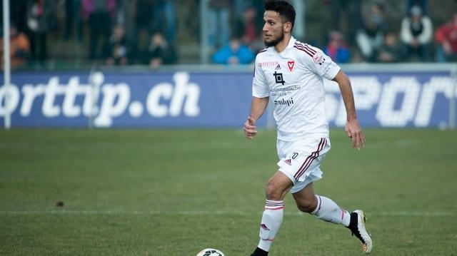 Naser Aliji wechselt per sofort von Vaduz zum Schweizer Meister.
