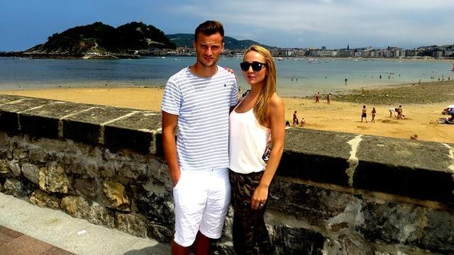 Ein Paar mit lautstarker Streitkultur: Fussballer Haris Seferovic und seine Freundin zofften sich bis die Polizei kam.