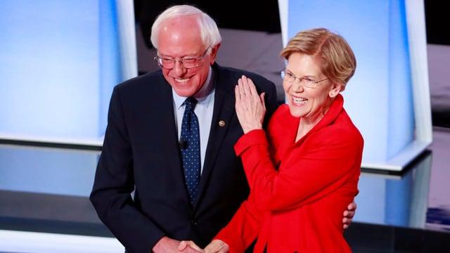 Sanders und Warren.