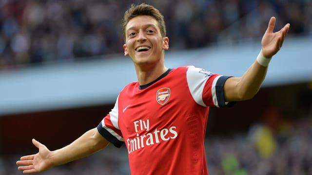 Mesut Özil liess sich 2 Treffer gutschreiben.