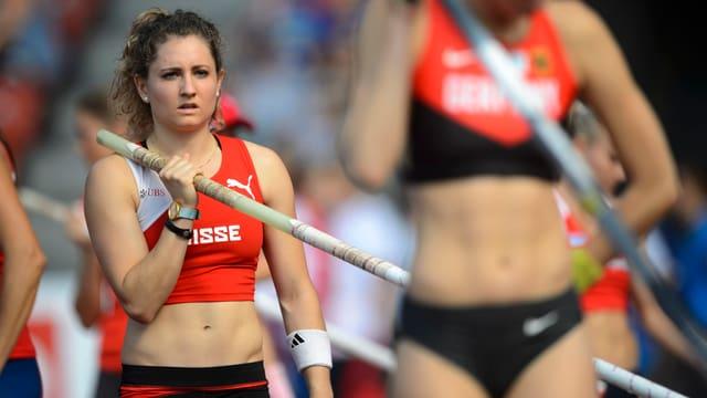 Anna Katharina Schmid bestreitet in dieser Saison keine Wettkämpfe.