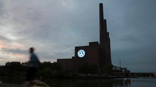 Ein VW-Werk.