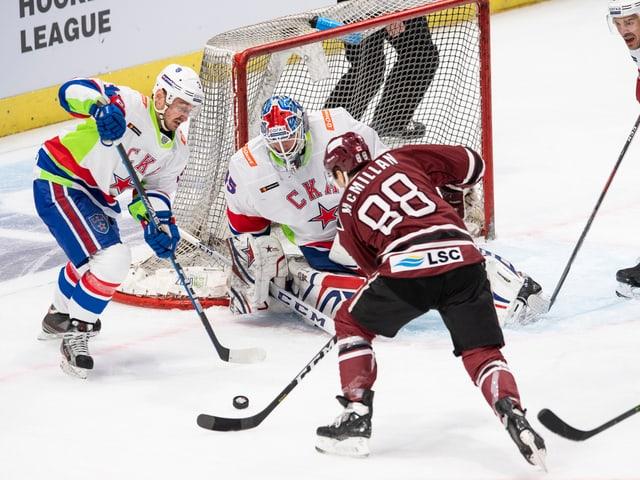 SKA St. Petersburg gegen Dinamo Riga