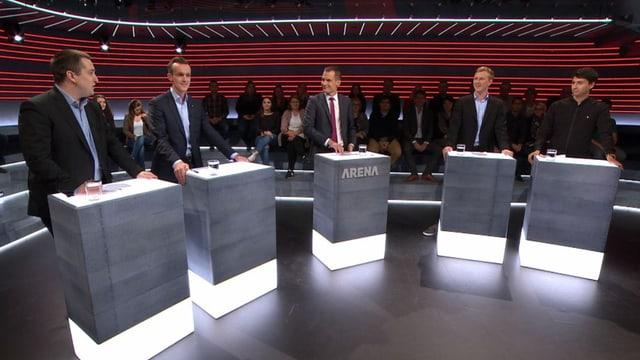 «Wahl-Arena»: Bei den Minderheiten scheiden sich die Jungen (Artikel enthält Video)