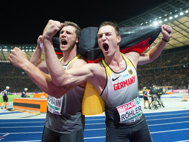 Andreas Hofmann und Thomas Röhler.