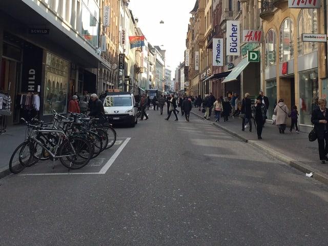 Blick in die Freie Strasse