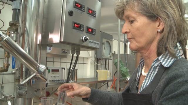Petignat-Keller kennt die Herstellung von Destilaten von A bis Z.