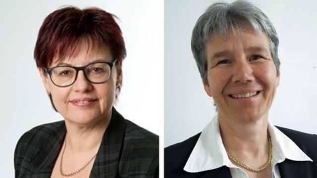 Christine Widmer und Frieda Steffen
