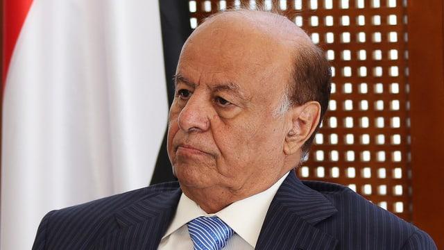 Präsident Rabbo Mansur Hadi.