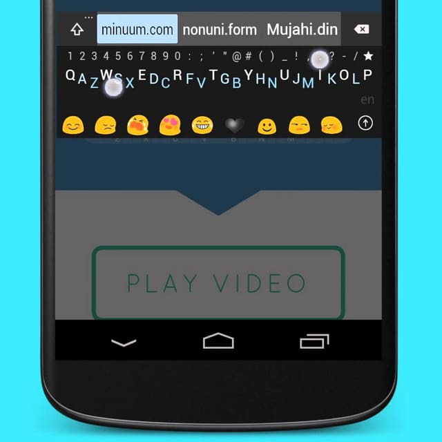 Screenshot Tastatur