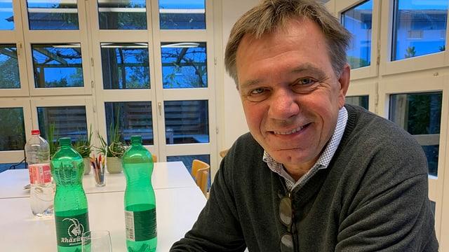 Andreas Meier in seinem Betrieb in Würenlingen