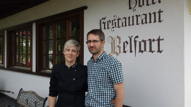 Monika e Paul Zünd-Keller.