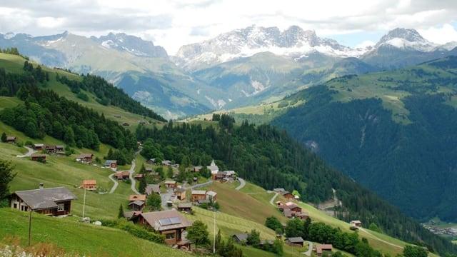 Das Bergdorf Furna
