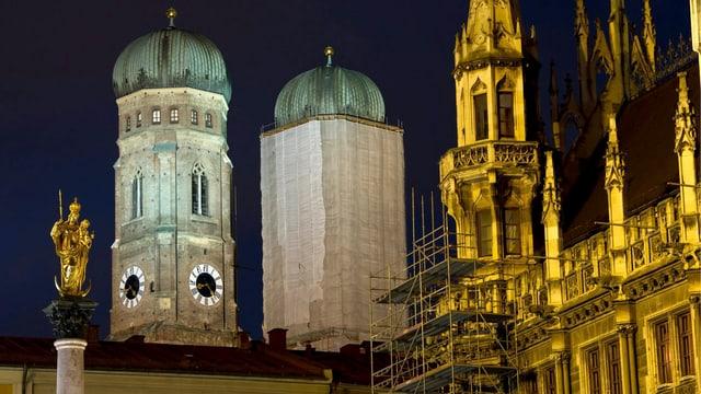 Zwiebeltürme in München