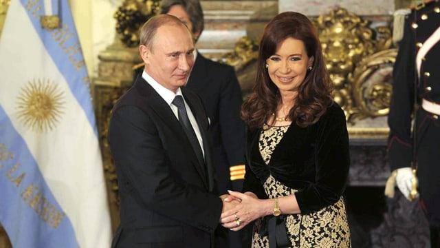 Putin und Kirchner