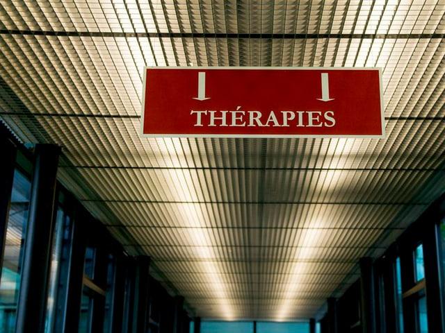 Gang zur Therapie.