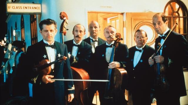 Filmmusiker beim Film «Titanic»